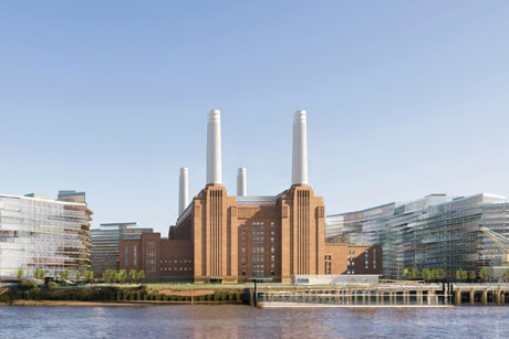 High profile: Battersea Power Station is being redeveloped
