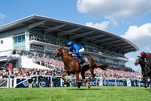 Masar wins the 2018 Investec Epsom Derby