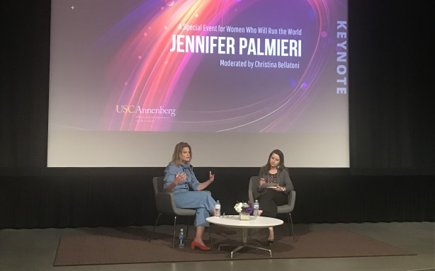 Jennifer Palmieri interviewed at USC as part of the Lead On! Communication Leadership Forum.