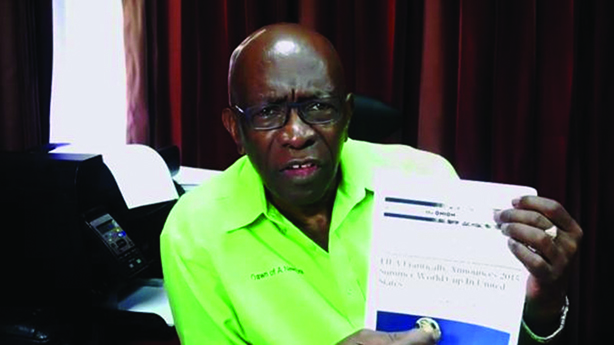Former FIFA VP Jack Warner famously thought an article from The Onion was real