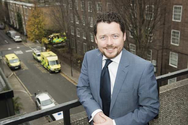 Jamie O'Hara is London Ambulance Service's new director of strategy and comms