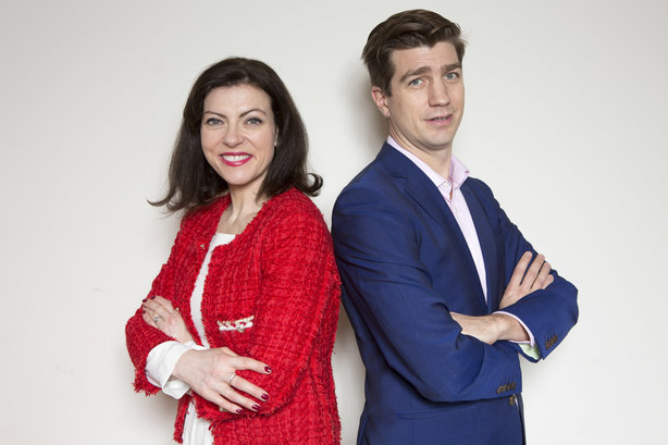 John and Clodagh Higginson have pooled their combined experience to set up Higginson PR