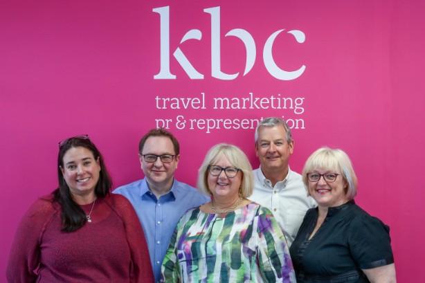 The senior team at KBC