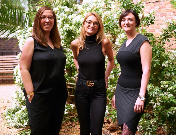 L-R: WildKat's CEO Kathleen Alder, Edition partner Lisa Boden Shah and lawyer Kirsty McShannon (©Tony Briggs)