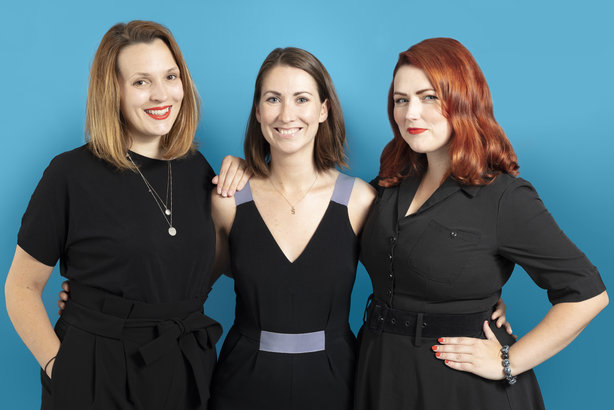 From left: Kindred managing partners Sharon Bange, Sinéad Gray, and chief strategy officer Tara Austin