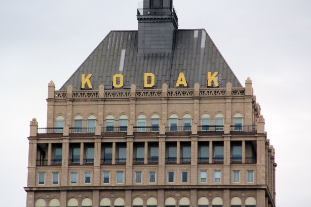 Kodak headquarters in Rochester, NY