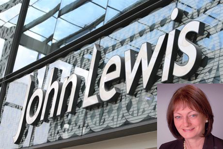 John Lewis: Department store's former comms boss Helen Dickinson (inset) has joined Kreab Gavin Anderson