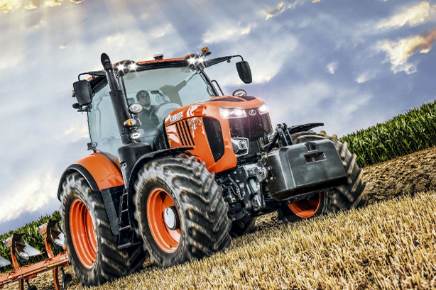 Kubota is a leading manufacturer of tractors
