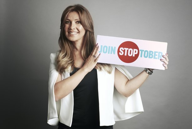 Coronation Street star Kym Marsh is helping to promote this year's Stoptober campaign from PHE