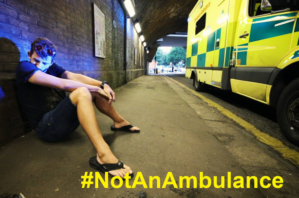 The LAS campaign is aimed at young men and aims to reduce the number of alcohol-related incidents in August