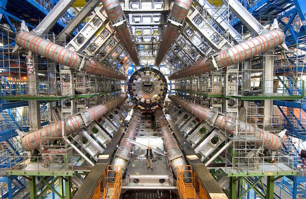 Large Hadron Collider: Created at CERN