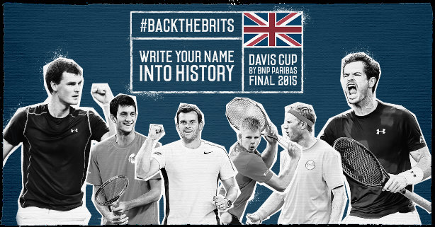 Write Your Name Into History Gb Tennis Team Rallies Fans Ahead Of
