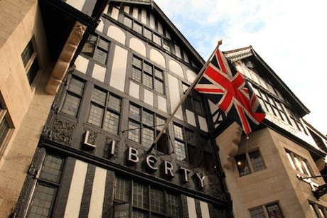 Liberty: Mock Tudor building erected in 1924