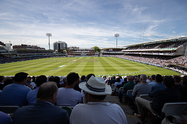 The spiritual 'home of cricket' – Lord's.