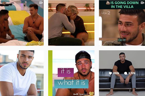 Fake followers found all over Love Island contestants' Instagram