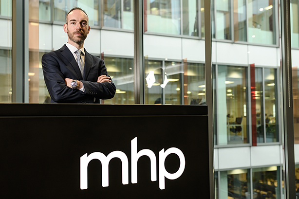 MHP Communications new recruit Peter Hewer.