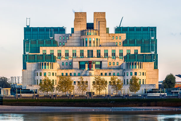 MI6 building, London (©ThinkstockPhotos)
