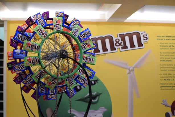 Mars launched its M&M's Fans of Wind campaign in New York last week.