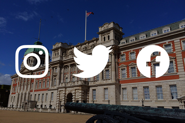 Which government departments are best at using social media?