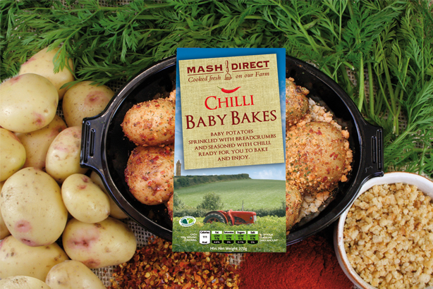 Mash Direct: Has hired Palm PR for consumer and trade brief