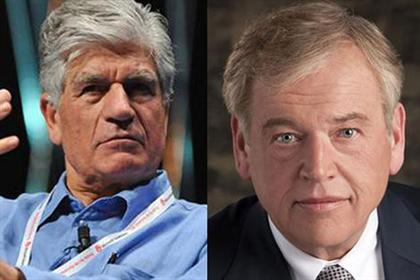 Joint CEOs: Publicis' Maurice Levy (l) and Omnicom's John Wren will be co-CEOs of Publicis Omnicom Group