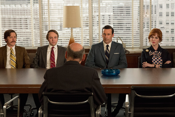 Mad Men's heroes face a McCann executive
