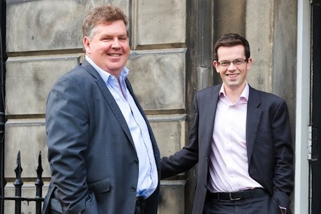 Message Matters: co-founders Peter Duncan (l) and Andy Maciver