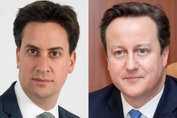 Ed Milliband and David Cameron: Have both suffered from the cash-for-access scandal, research finds