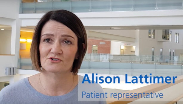 NHS Direct campaign used real life patient Alison Lattimer