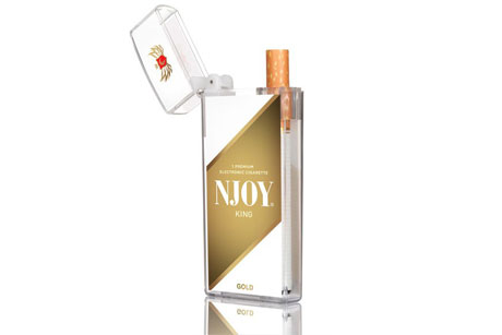 NJoy: E-cigarette brand from the US