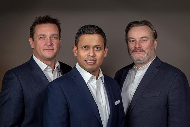 Nudge Factory's Jason MacKenzie, Ahzaz Chowdhury and Kevin Davis