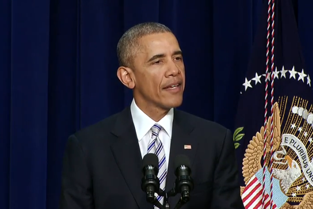 President Obama speaks at the Summit on Countering Violent Extremism