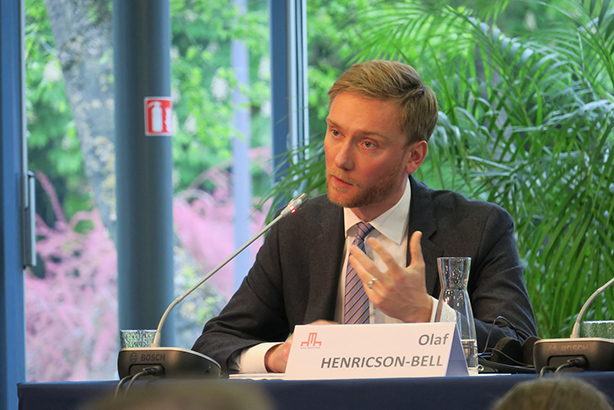 Olaf Henricson-Bell has been appointed head of comms at the Treasury