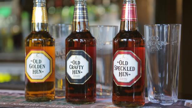 Consumer drive: The Old Speckled Hen range