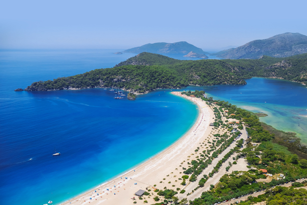 Turkish delights: Ölüdeniz is Turkey's 'blue lagoon'