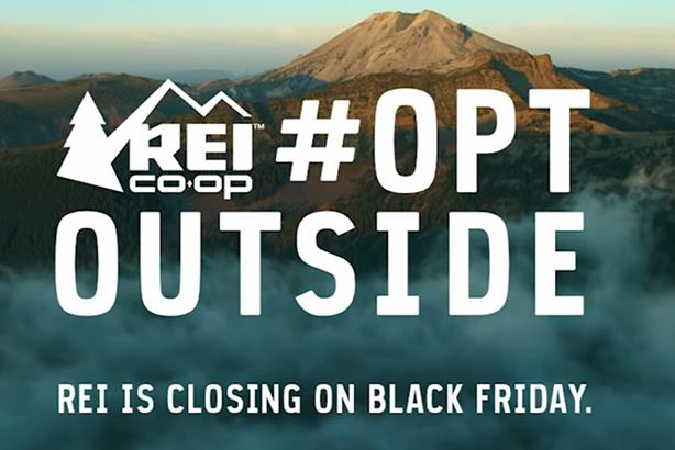 REI won big at Cannes for #OptOutside on Black Friday - but PR didn't get sufficient credit