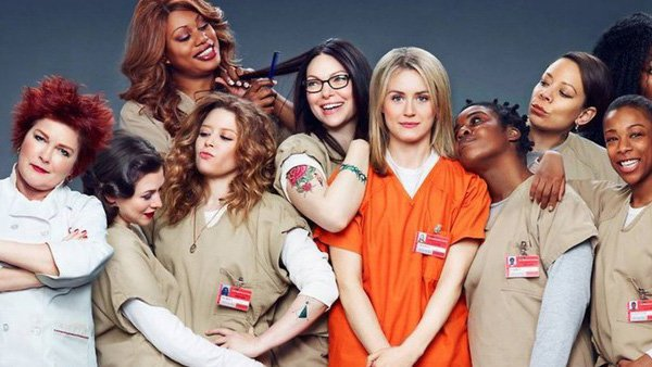 Netflix helped popularize binge-watching with shows such as Orange is the New Black.