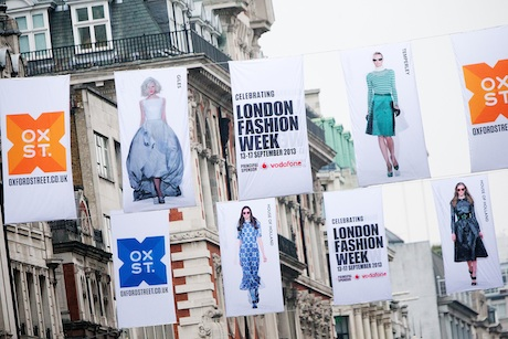 Oxford Street: held a London Fashion Week event last September