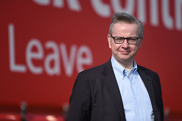 Time to leave, writes Gove (Credit: Andrew Matthews/PA Wire/Press Association Images)