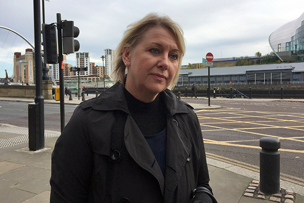 Claire Barber outside Newcastle County Court yesterday (Pic credit: Tom Wilkinson/PA Wire)