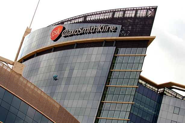 Roster overhaul: A GSK building in London (credit: Fiona Hanson/PA)