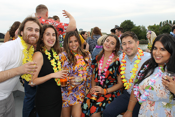 Messy: the PRCA annual boat party