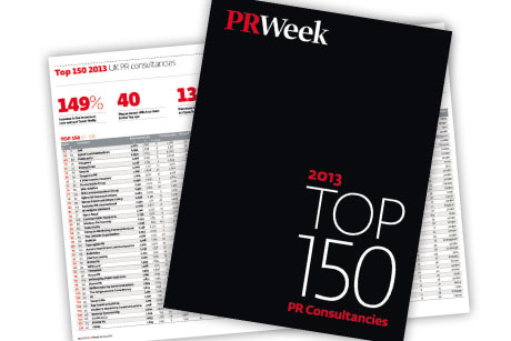 PRWeek Top 150: 2014 Consultancy league tables open for entries