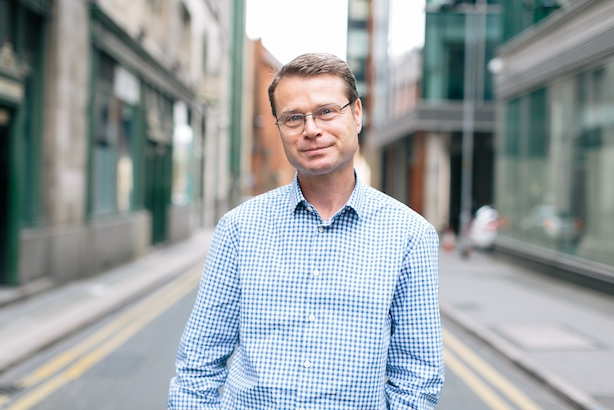 Patrick Tooher: former business editor of The Mail on Sunday