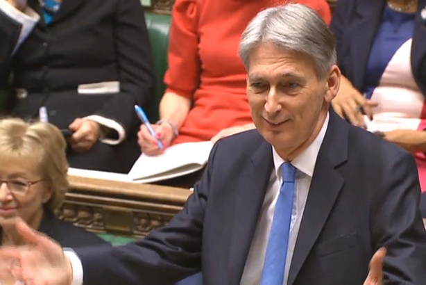 Hammond pulled some gags in his Budget speech but maybe it would be best if he sticks to the numbers