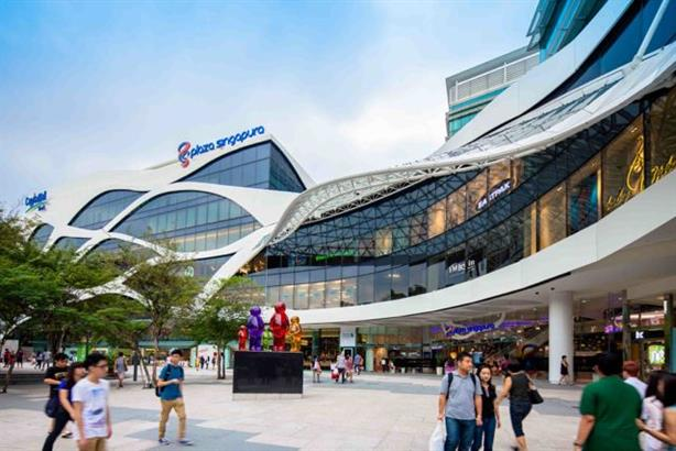 Plaza Singapura at Orchard road is a sprawling shopping mall in the heart of the city