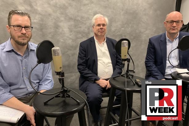 L to R: Frank Washkuch, Peter Finn, Steve Barrett