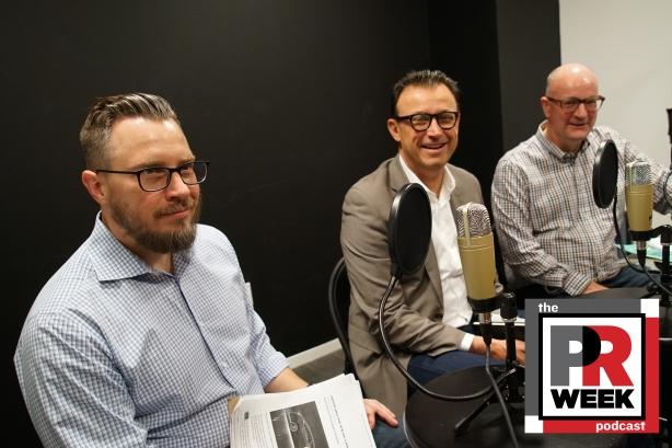 L to R: Frank Washkuch, Michael Olguin, Steve Barrett