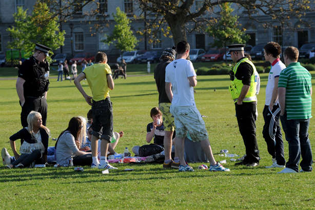 New approach required? A survey of young people found the majority had an indifferent or negative view of the police (pic credit:  STEVE LINDRIDGE / Alamy Stock Photo)