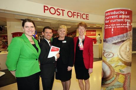 Post Office: introduced current accounts with a campaign last year